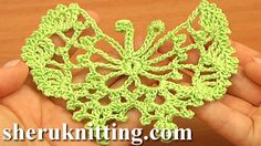 HOW TO CROCHET BUTTERFLIES http://sheruknitting.com/videos-about-knitting/crochet-elements-and-projects/item/653-how-to-crochet-butterflies.html Tutorial 17. Step-by-step video instructions on how to crochet a delicate butterfly. Learn how to crochet a butterfly, free patterns, many beautiful crochet butterfly patterns, crochet different butterflies following detailed video tutorials.