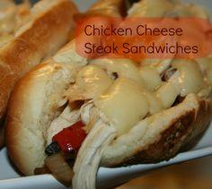 Chicken Cheese Steak Sanwich
