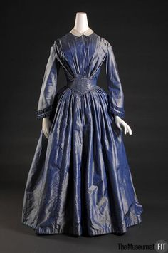 omgthatdress:  Afternoon Dress 1849 The Museum at FIT
