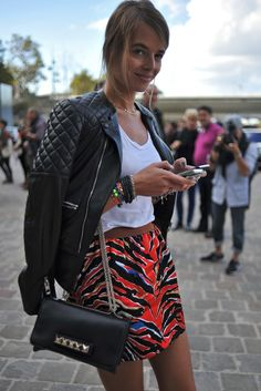 Paris Fashion Week #StreetStyle #Fashion #PFW #ParisFashionWeek #Tech