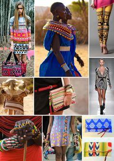 Just A Fix // No. 3 #prints #patterns #ethnic #african #tribal #aztec #bohemian
