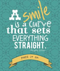 Smile Quote Free Printable
