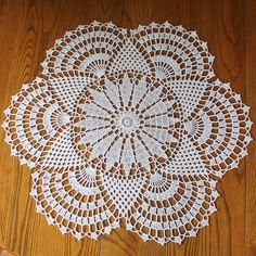 Rising Sun Doily by Signed With an Owl, via Flickr