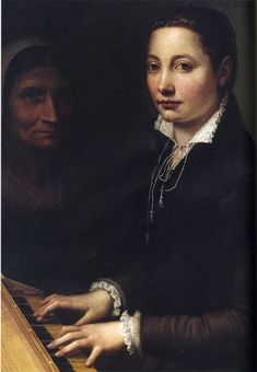 Sofonisba Anguissola. Without the possibility of studying anatomy or drawing from life, she could not undertake the complex multi-figure compositions required for large-scale religious or history paintings. Self-portraits & family members were her most frequent subjects. Anguissola is significant to feminist art historians. Her great success opened the way for larger numbers of women to pursue serious careers as artists