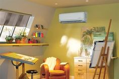 Do you own an older home without ductwork? The main advantages of a ductless mini-split #HVAC system are its small size, quiet operation, and the flexibility it has for #heating and cooling individual areas within your home. Learn more here, then contact us at 510-538-9817 to find out what's best for your home.