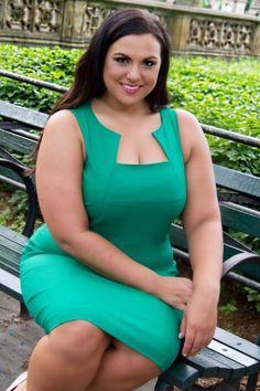Plus size model Stephanie Mallick