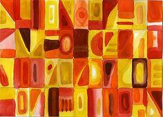 Chuck Close color cells
