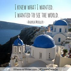 Read this blog post about a woman who left her boyfriend, her business, and her old life to backpack through Europe alone. #travel #quotes