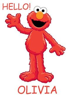 Great  Sesame Street Elmo  Etsy.