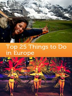 what to do in Europe!