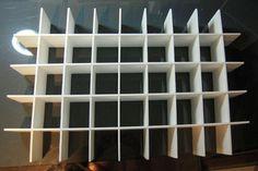 8C Foam board cubby cabinet