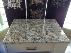 Countertops on Pinterest Countertop Paint, Granite Countertops and ...