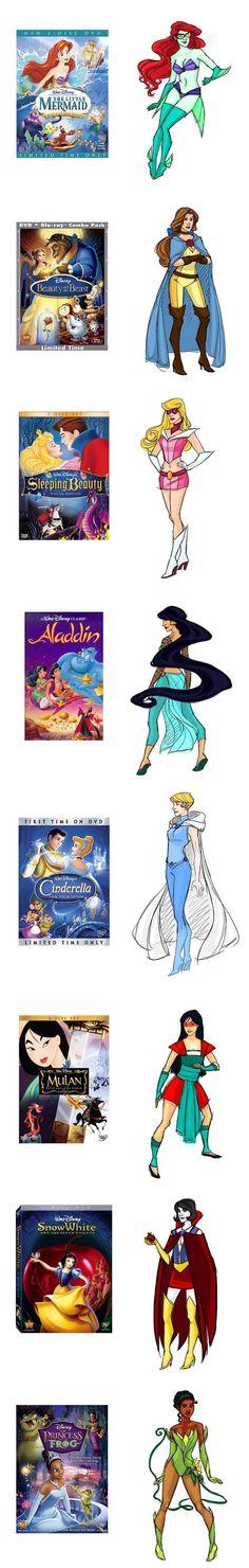 Princesses as Heroes