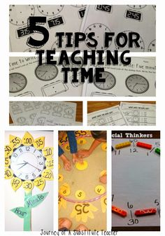 5 Tips For Teaching Time