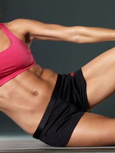 flat abs!