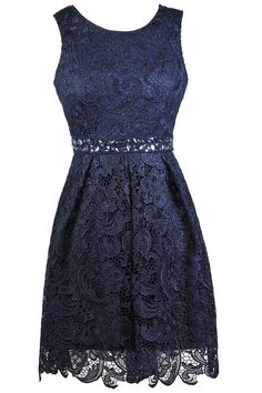 Sleeveless Lace Midi Dress with Crystal Embellishments