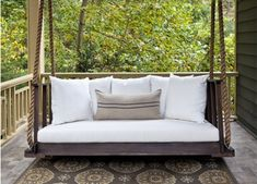 LOVE this porch swing!