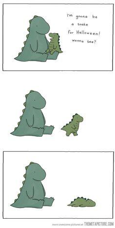 funny dinosaurs drawings cute