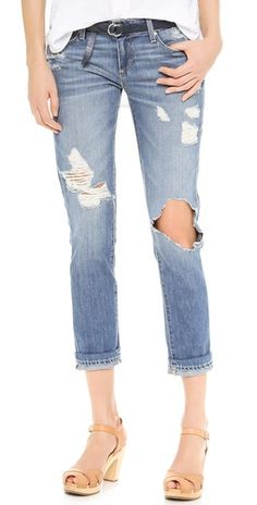 How can you be ripped so beautifully!!   Paige Denim Jimmy Jimmy Skinny Jeans by: Paige Denim @Shopbop/East Dane
