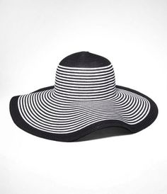 A floppy hat for style that's made in the shade! #hat #fashion