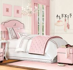 How sad that I already have Ellas big girl bedding picked out:(