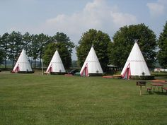 stay in a teepee at Wigwam Village, Cave City, KY!