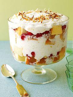 Pina Colada Trifle