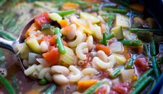 Summer Minestrone wi