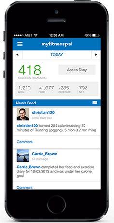 Free Calorie Diet, Diet & Exercise Journal  -- App
