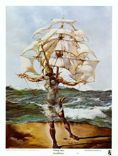 Ship painting by Salvador Dali. Buy Ship Painting from Art.com Now.