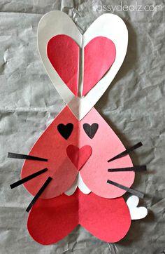 bunny valentine craft