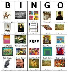 Make bingo cards wit