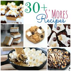 30+ Best Smores Recipes #recipe #smores #dessert