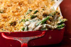 Thanksgiving Vegetable Sides Recipes : Green Bean Casserole - CHOW