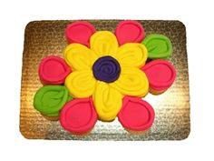 Large Flower Shaped Cupcake Cake #65 $10.99