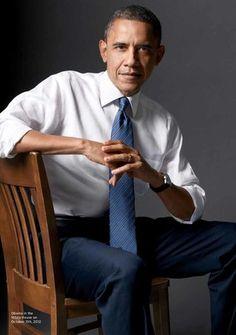 Mark Seliger photographs Barack Obama for Rolling Stone, Nov 2012