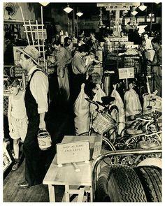 Sears Roebuck Store    Huntington, Long Island in 1942