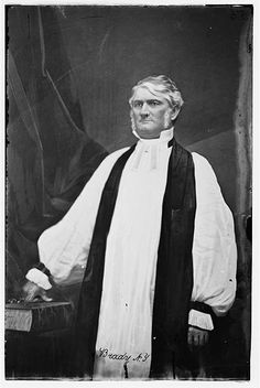Bishop Leonidas Polk - Later a general in the Confederate Army