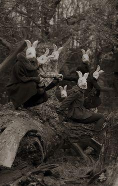 """""""Bunnyland"""" - Photography by Alena Beljakova, 2009."""