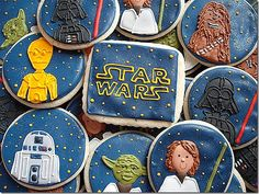Cute Star Wars cookies