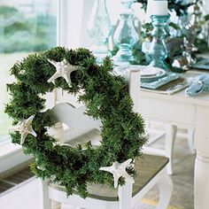 14 Ideas for Festive Wreaths | Adorn Unexpectedly | CoastalLiving.com