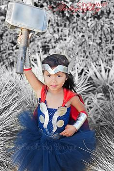 Thor girl costume: @Sara Eriksson Garner you can wear this to your next larp convention! :)