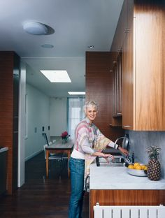 A tiny 900-square-foot house on a steep hill in San Francisco offers a bevy of clever tips and tricks for small-space living.