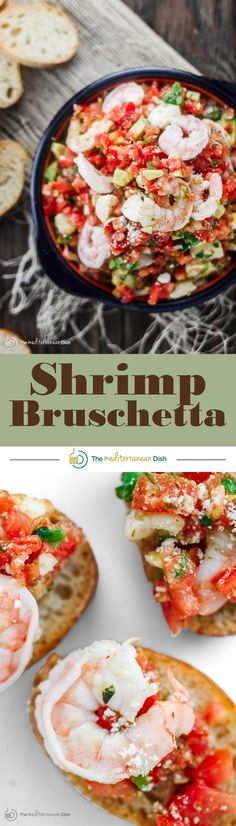 Shrimp Bruschetta Re