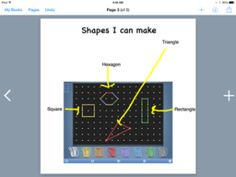 App Smashing with Geoboard app and Book Creator app! - http://iteachwithipads.net/2014/10/14/app-smashing-in-math/