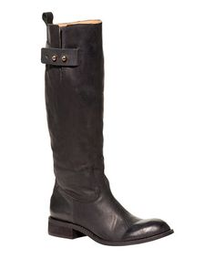 Take a look at this Black Bailey Riding Boot - Women by Spirit by Lucchese on #zulily today!