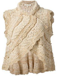 Outstanding Crochet: Layered #Crochet Bolero from Stella Pardo.