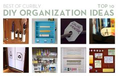 Loads of great #DIY organization ideas. Check out our top picks from 2011!