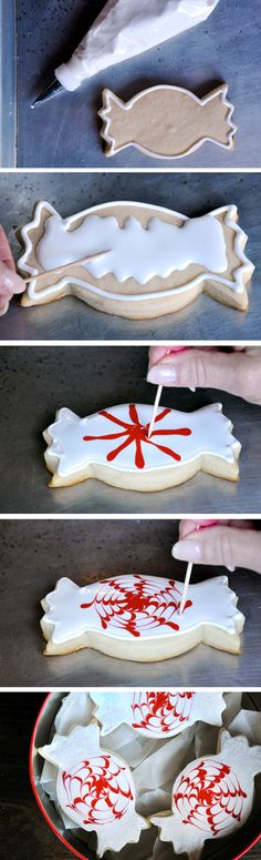 Peppermint Candy Cookies from justataste.com #recipe #cookies