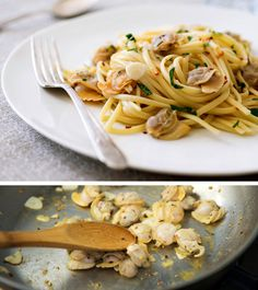 Recipe: Mark Bittman's pasta with clams || Photo: Evan Sung for The New York Times